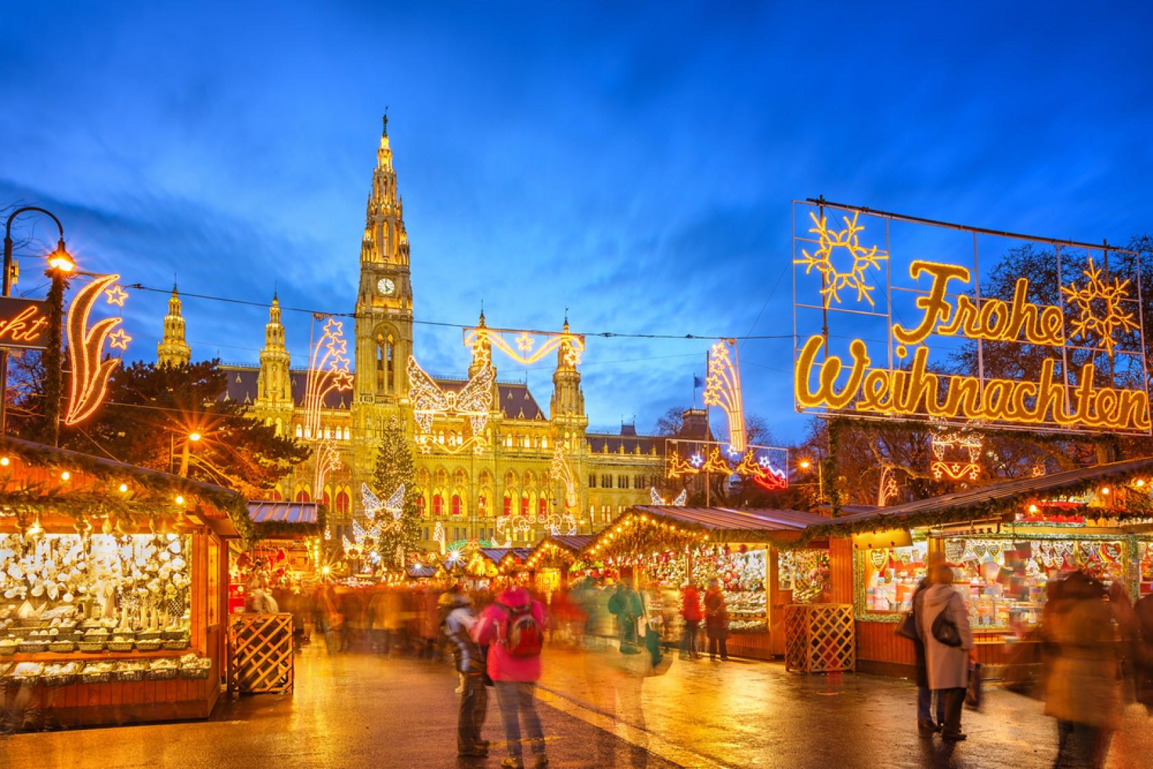 【2016年12月6日(火)出発限定】 ウィーン☆夢のクリスマストレイン『皇帝列車』で郊外のハプ