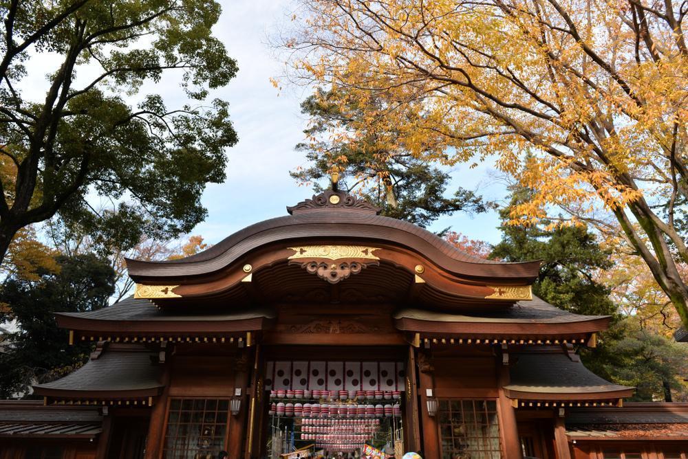 Le sanctuaire Okunitama