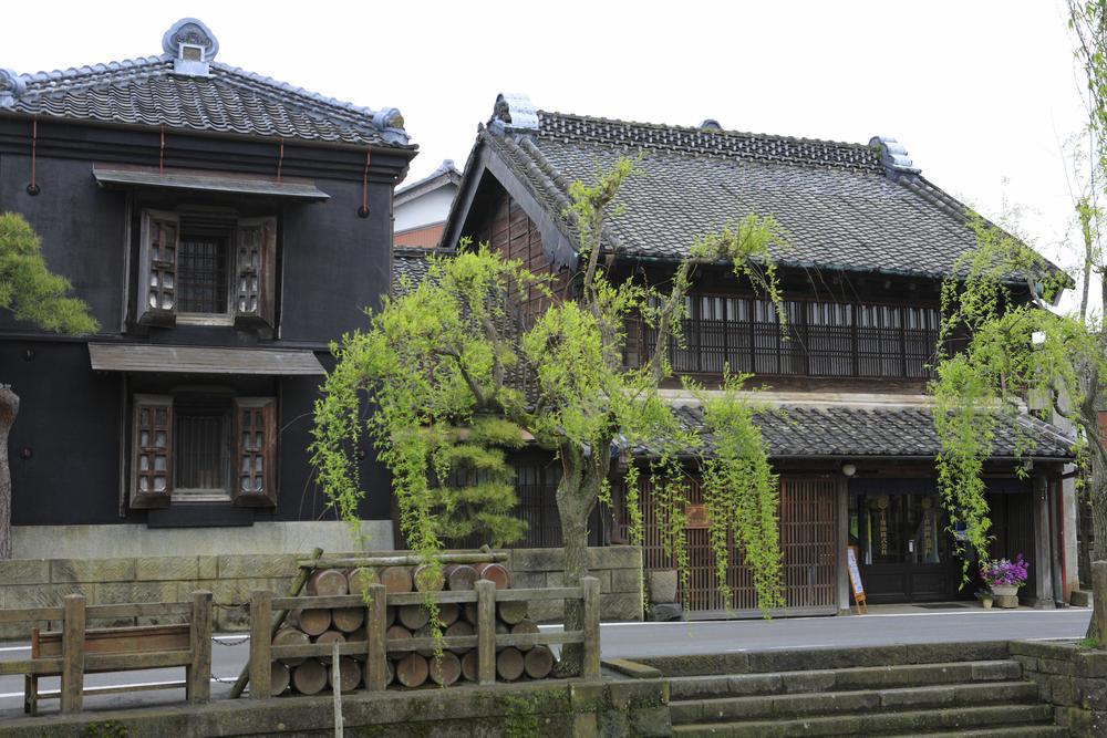 Sawara old district