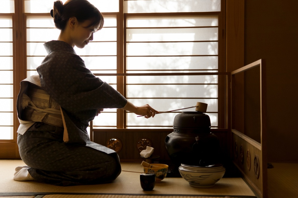 Sadô, la cérémonie du thé
