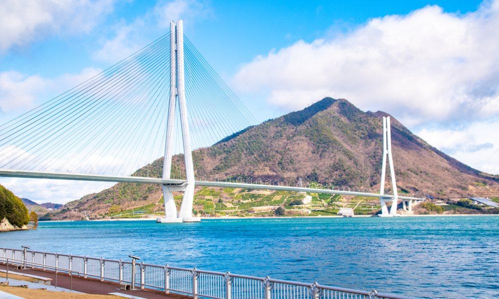 Le pont Tatara-ohashi