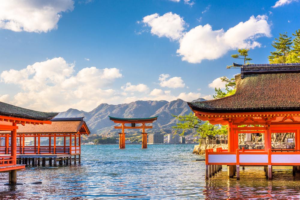 Le temple fottant à Miyajima