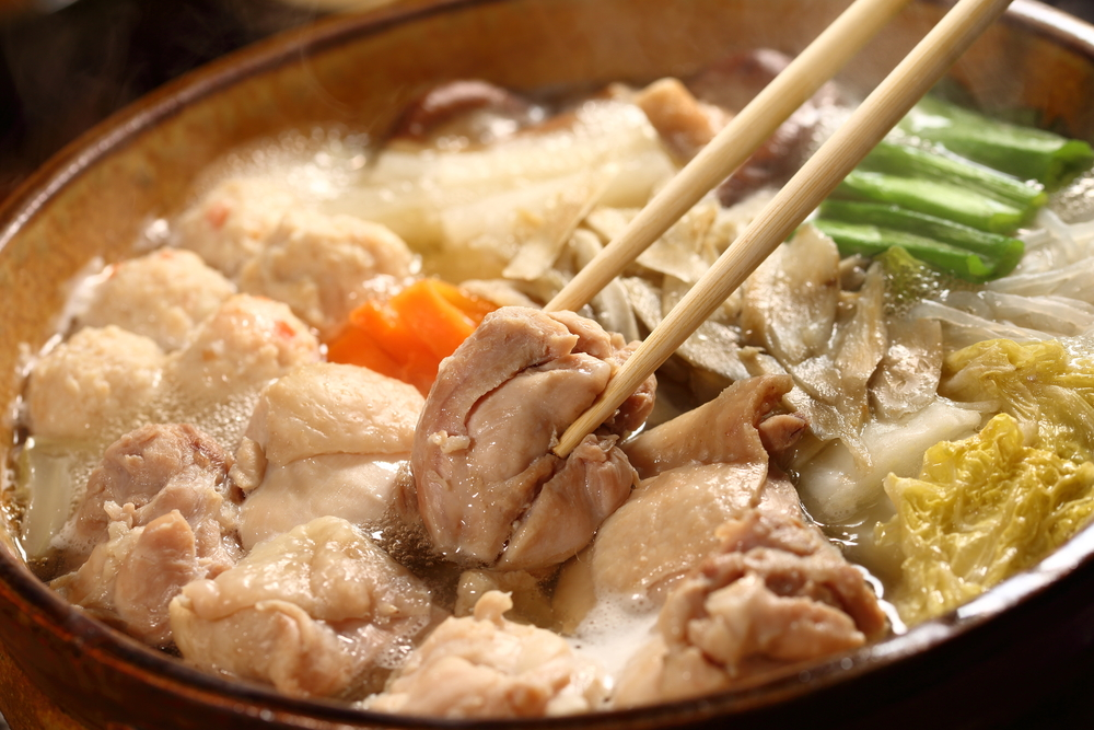 Chankonabe, traditional sumo meal