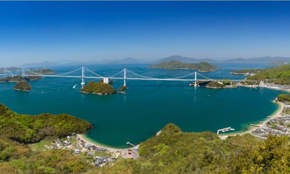 Les ponts Kurushima Ohashi