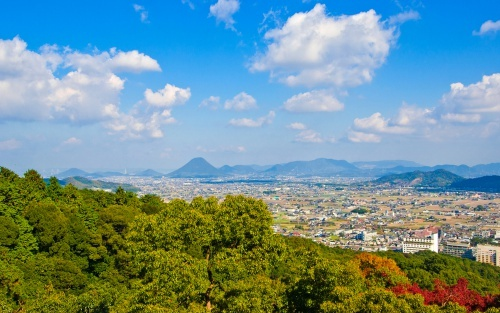 View from Kotohira shrine