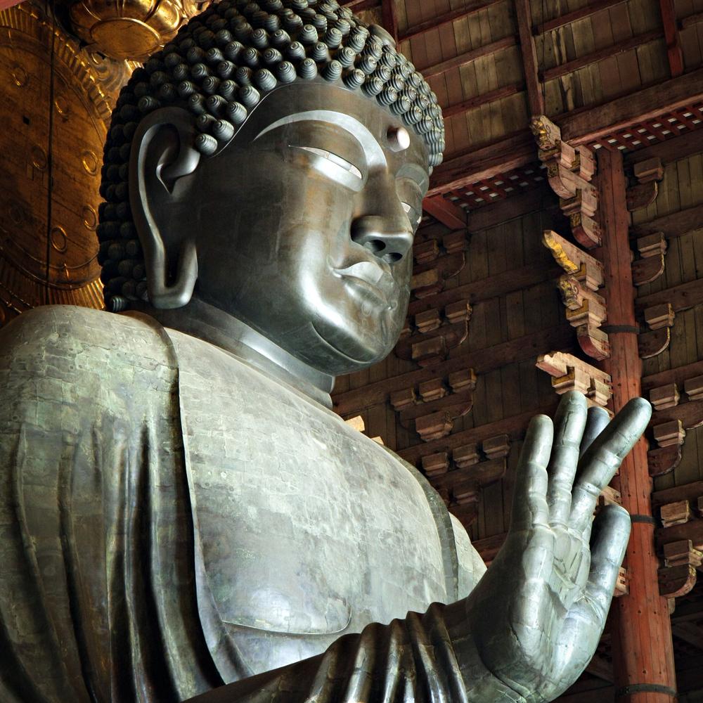 Daibutsu - grand Bouddha assis du temple Todaiji