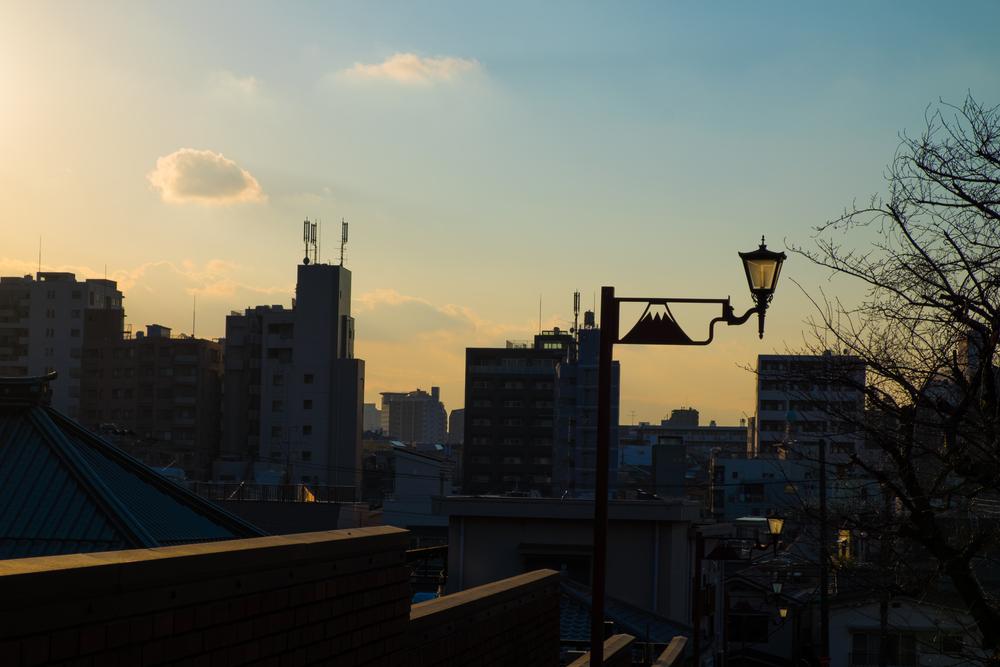 Yanaka sunset
