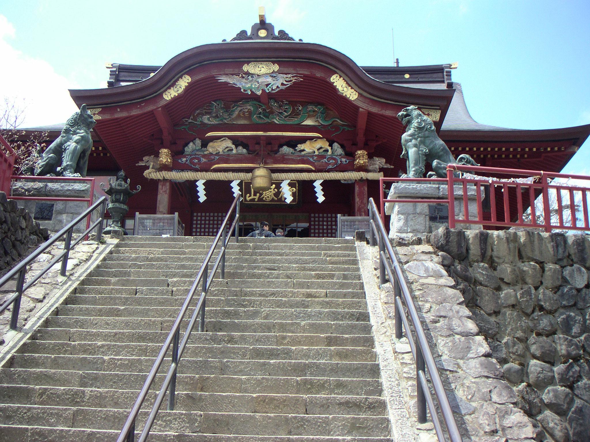 Le sanctuaire du Mont Mitake