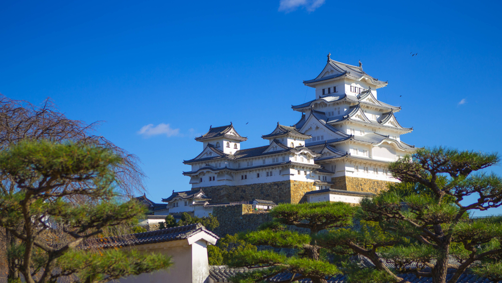 Le château de Himeji(Hyogo)