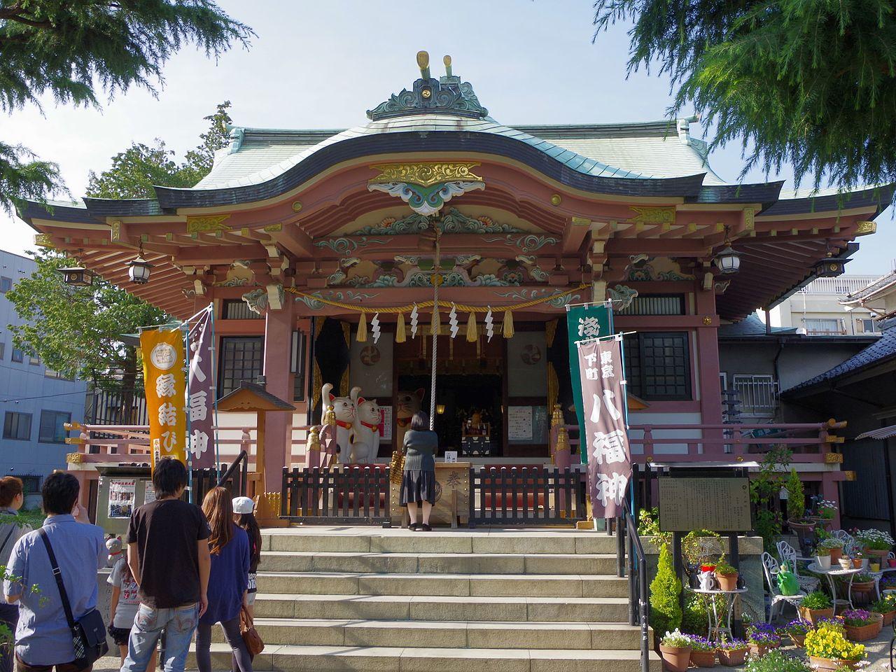 Sanctuaire Imado (temple du chat porte bonheur)