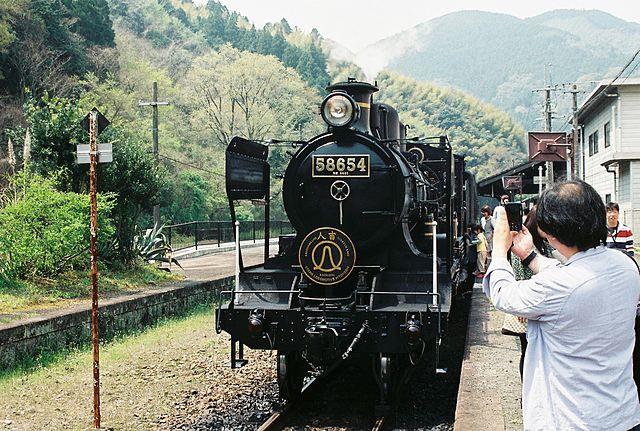 Le train SL Hitoyoshi