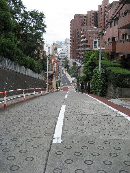 Nozokisaka slope
