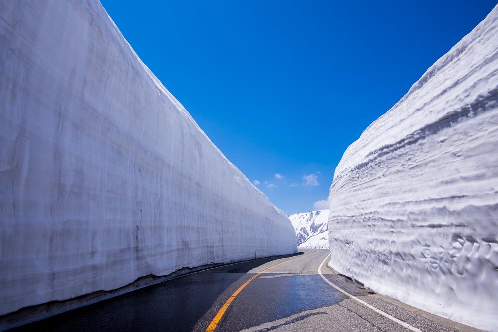Route Alpine de Tateyama Kurobe