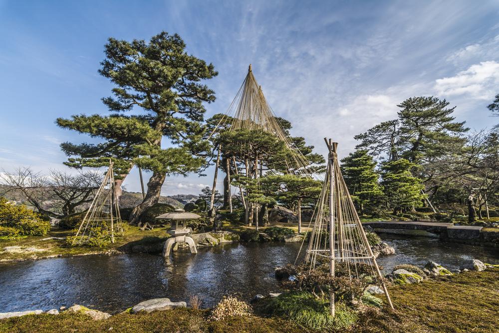 -Le jardin Kenroku-en (Kanazawa, Ishikawa)