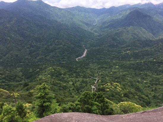Vue depuis le rocher Takoiwa