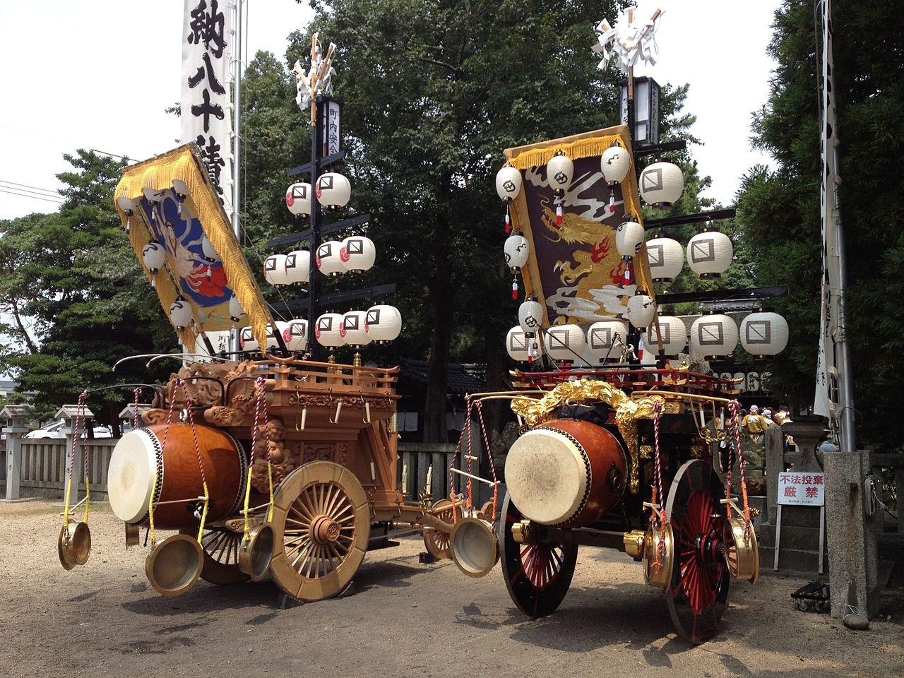 Ishidori festival de Kuwana
