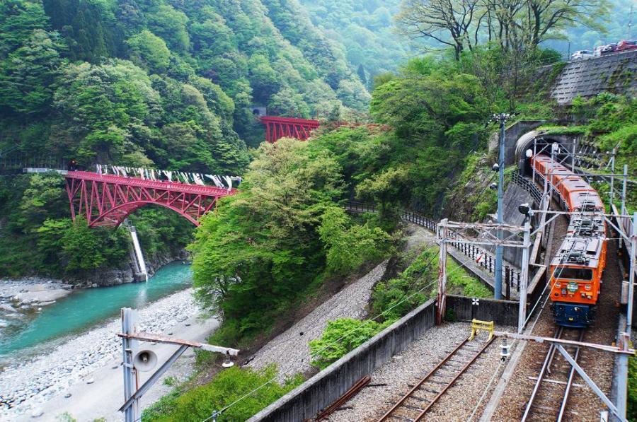 La vallée de Kurobe (Toyama)
