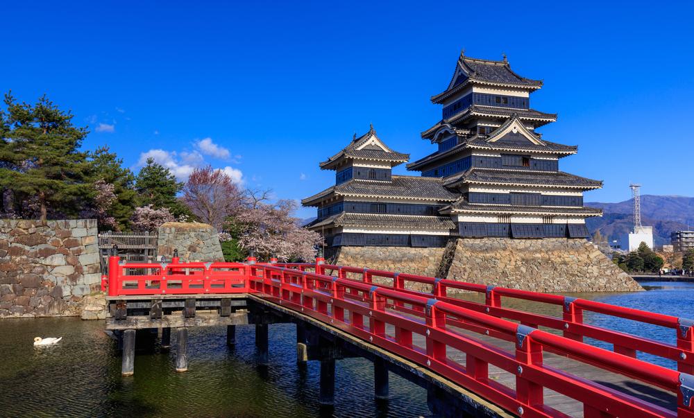 Le château de Matsumoto (Nagano)