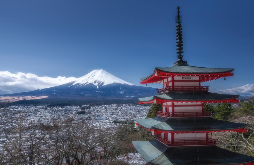 Excursion au mont Fuji