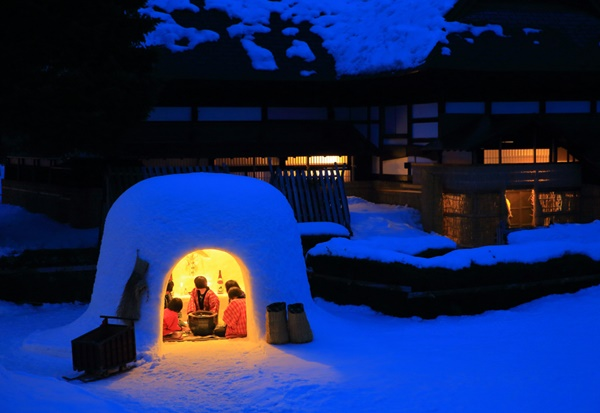 Kamakura, fête de neige à Akita