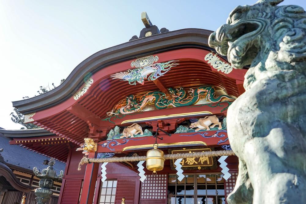 Mitake jinja shrine