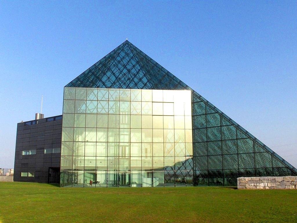 The Moerenuma pyramid Sapporo