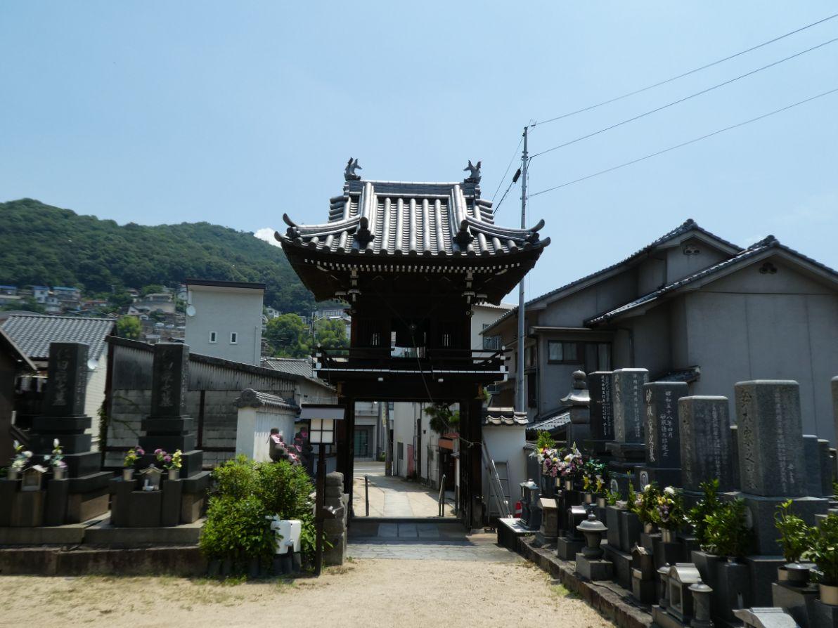 The Bell door of  Shonen-ji Temple