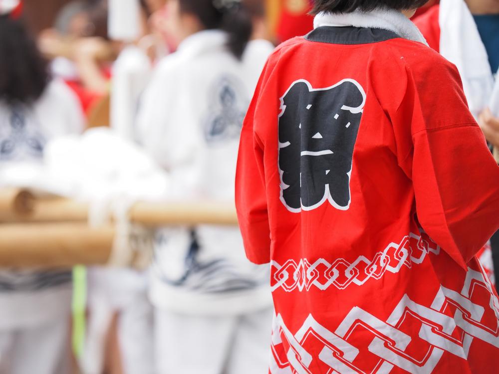 Festival au sanctuaire Nishinomiya