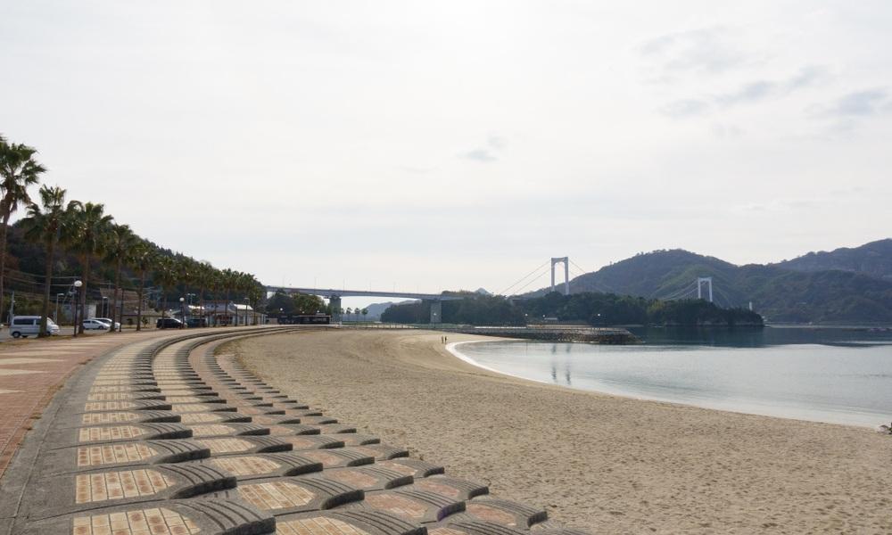 La plage de Hakatajima