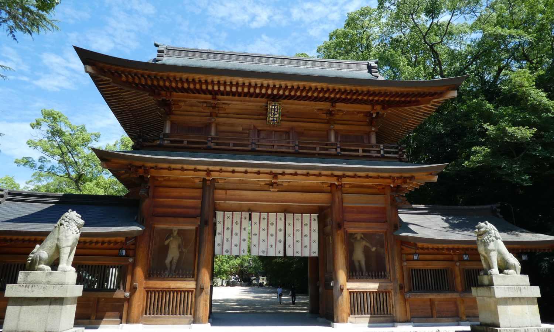 le sanctuaire Oyamazumi