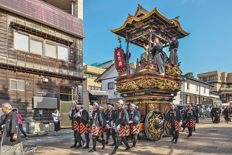 Festival de chars de yatsuo