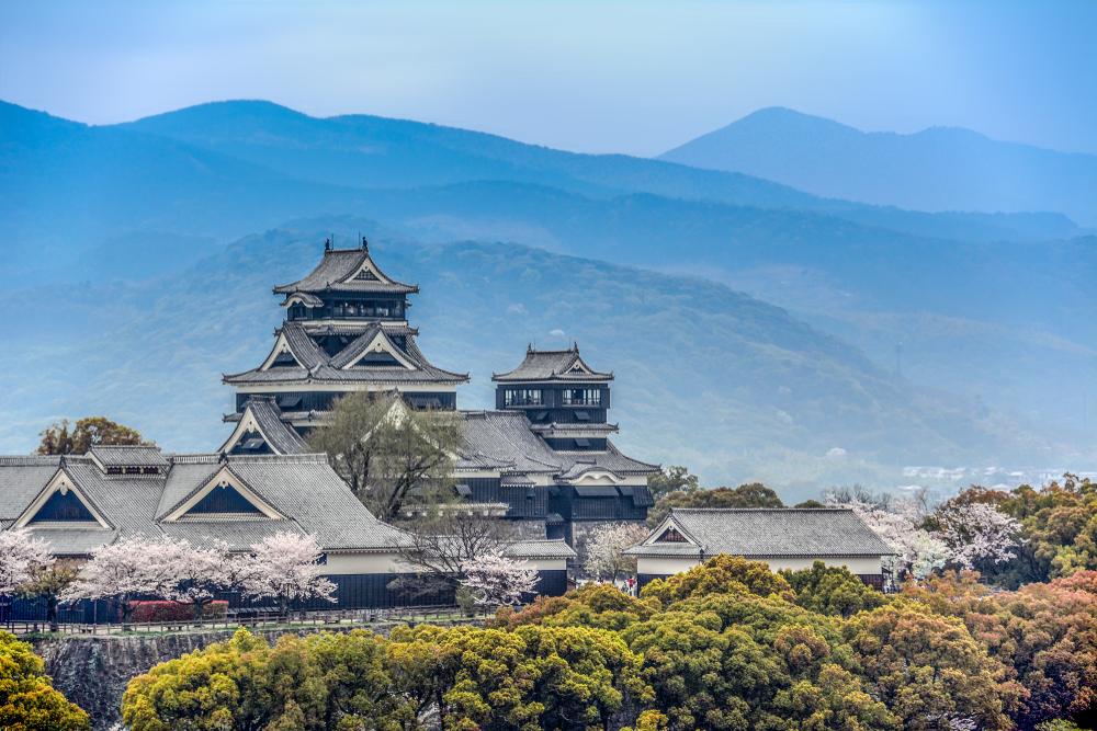Le château de Kumamoto (Kumamoto)