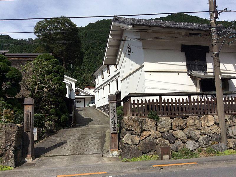 """Brasserie de saké """"Sawanoi"""""""