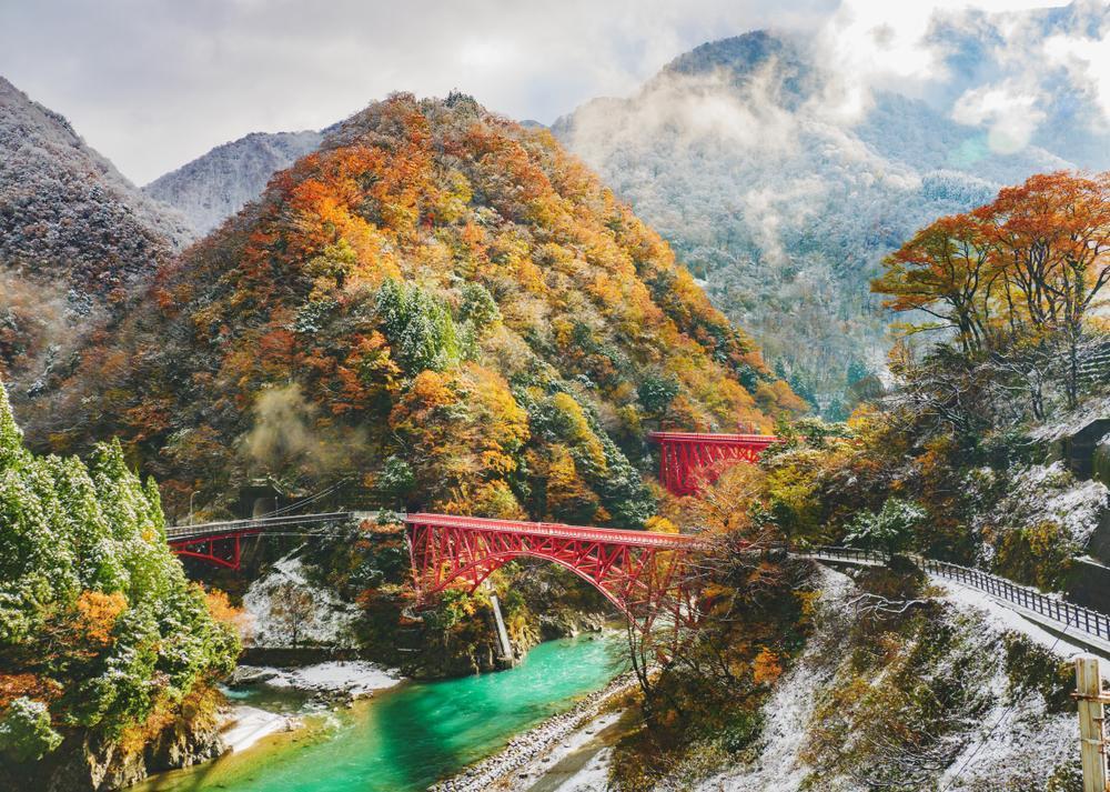 Gorges de Kurobe