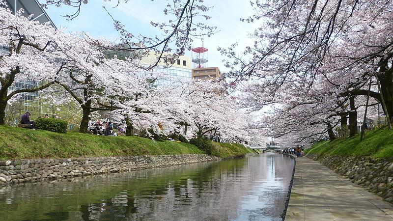 la rivière Matsukawa