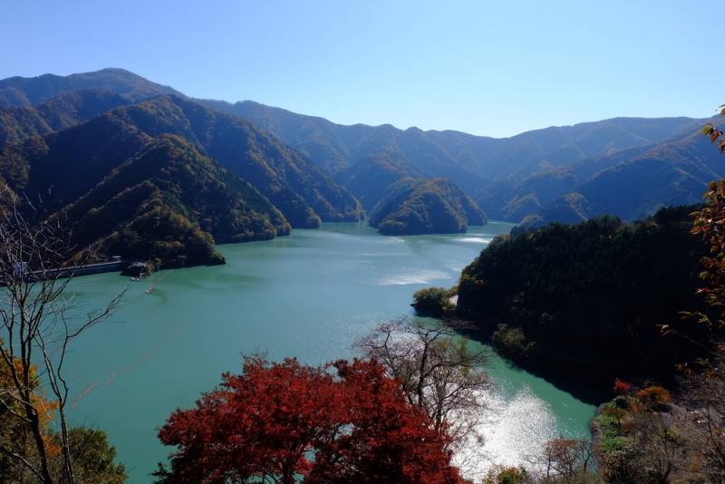 Mt. Mitake and the Okutama area