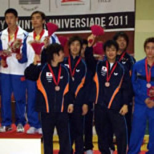 【遠征キャラバン】世界大学選手権2006 (スロベニア・マリボール/日本学生卓球連盟)