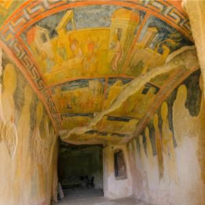 13世紀頃の壁画が色鮮やかに残る、イヴァノヴォの岩窟教会【ブルガリア情報】