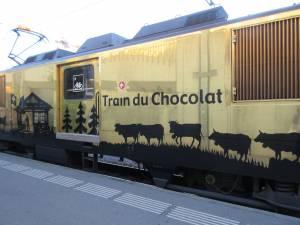 チョコレートトレインでスイスを味わう♪ (Part 1)