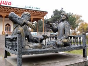 タジキスタンのチャイハナ