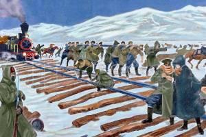 バイカル湖とシベリア鉄道