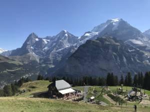 ~グリンデルワルトにゆったり滞在~絶景!スイス鉄道一人旅
