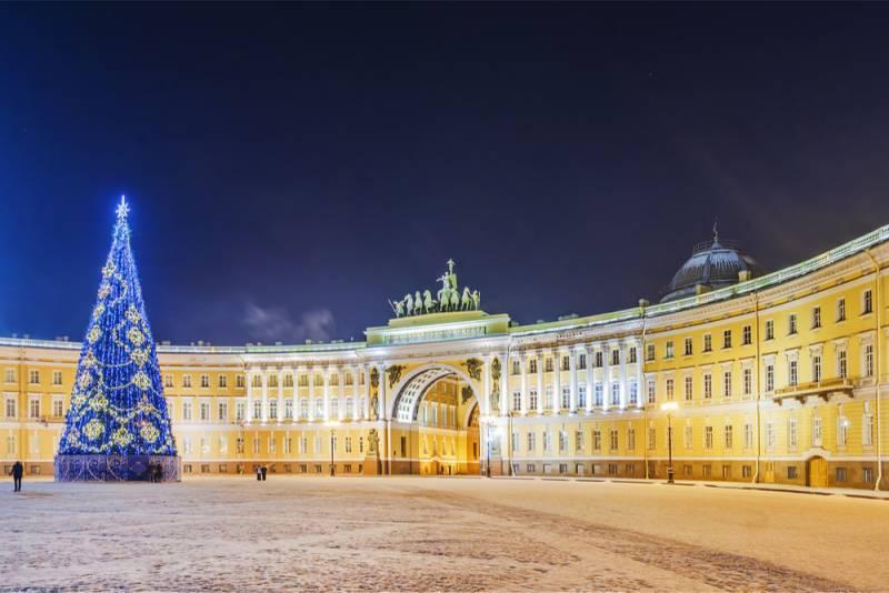 サンクトペテルブルグのクリスマス