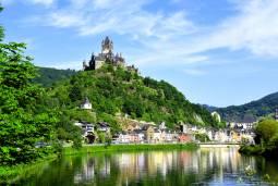 ベルギーからドイツへ ~モーゼル川と古城ホテル~ 6日間