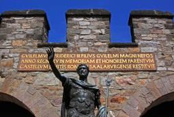 【フランクフルト発着】世界遺産を訪ねる旅 ドイツ・リーメス街道ザールブルクのローマ遺跡 日帰り