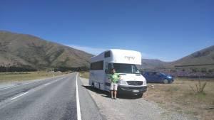 ニュージーランドはキャンピングカーの旅が大人気!!