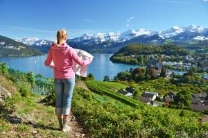 自由で気ままなスイス一人旅