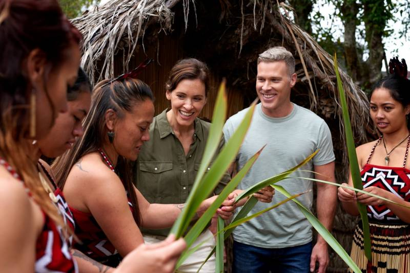 土曜日朝のTV番組「旅サラダ」ニュージーランド特番