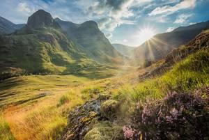 スコットランドの大自然 グレンコー・キンロックモア