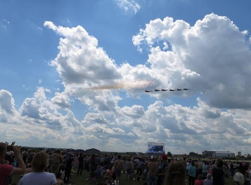 航空ショーMAKSを十分楽しめました!